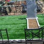 Трава на могилу - простое украшение для кладбищ