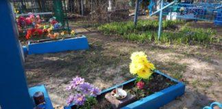 на кладбище на пасху